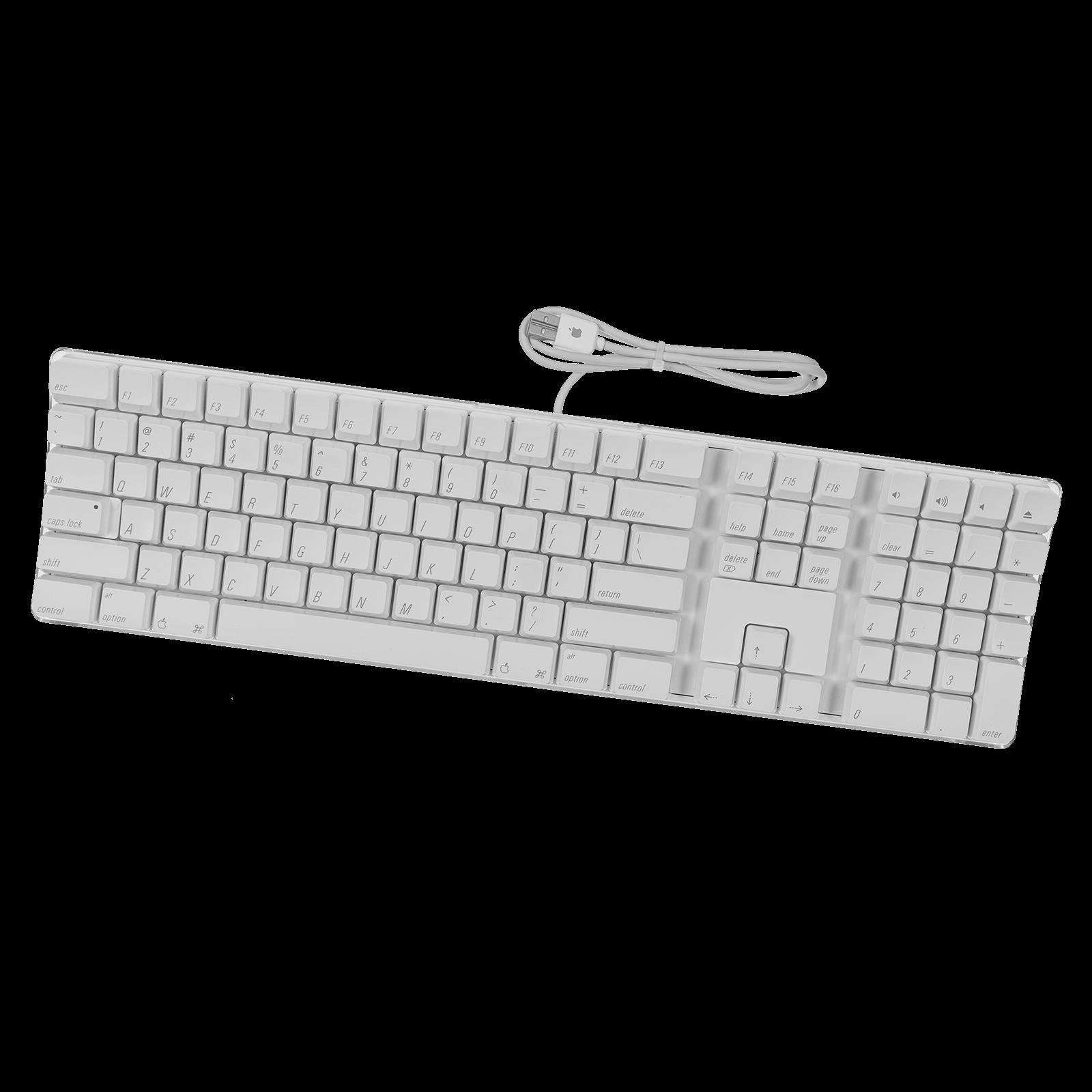 M9034LL/A) Apple Wired Keyboard + Keypad & USB Ports (A1048) » Beetstech