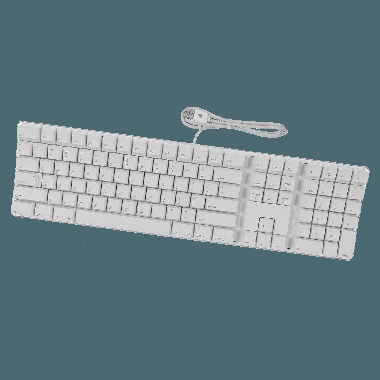 Apple Wired Keyboard + Numeric Keypad & USB Ports (A1048)