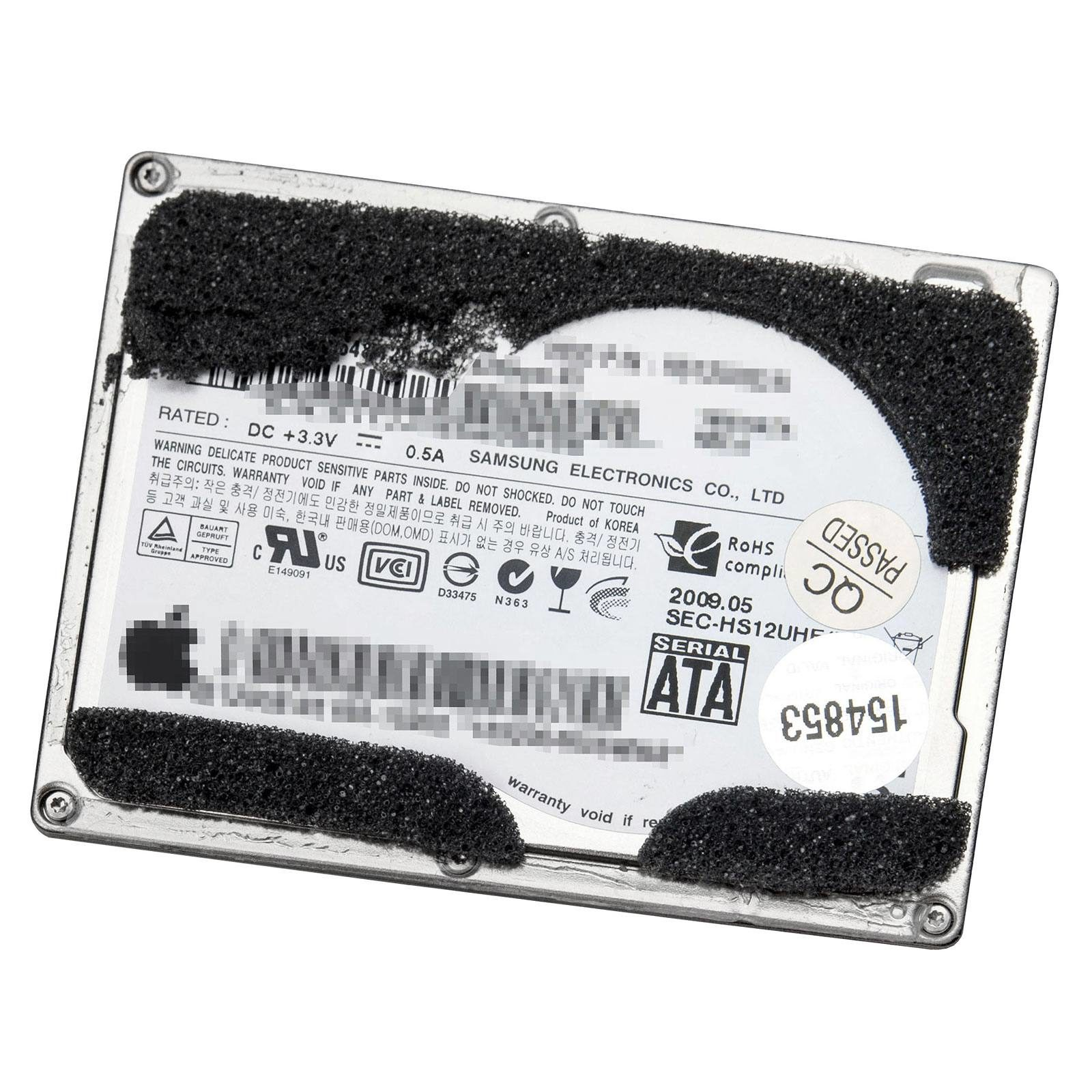Hard Drive / Solid State Drive – Apple MacBook Air 13″ A1304 (Late 2008,  Mid 2009)