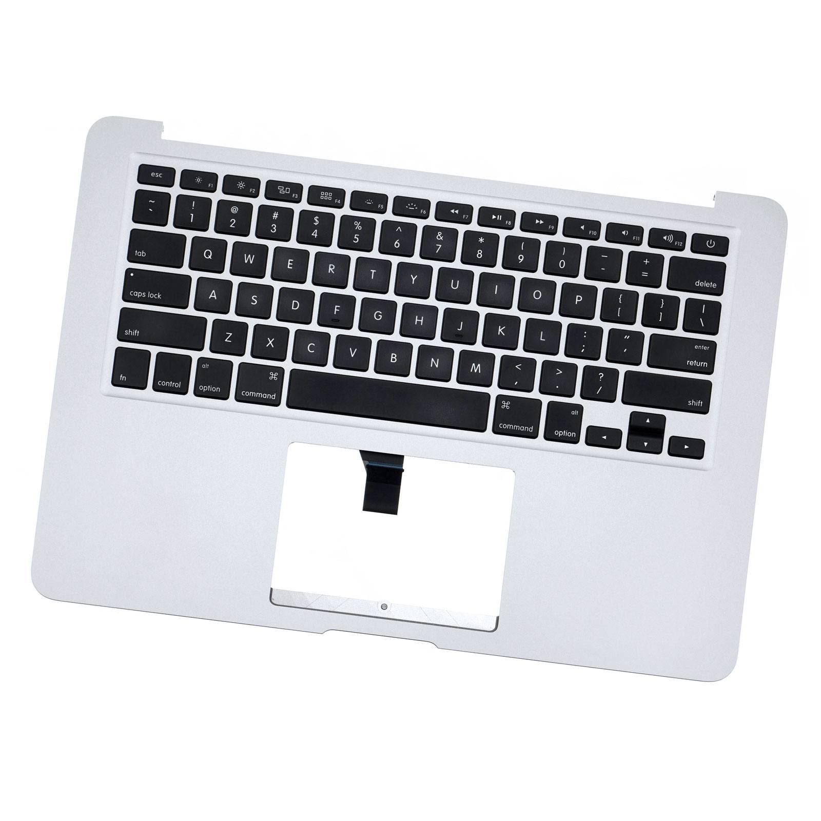 "13"" Apple MacBook Air A1466 Mid 2012 Top Case Palmrest Keyboard Trackpad Mic /""A"