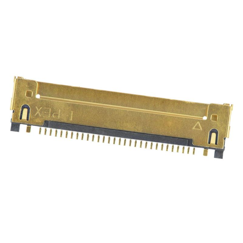 "LCD screen LVDS cable connector 30 pin Apple MacBook Pro Unibody 13"" A1342 A1278 Late 2008 Mid 2009 Late 2009 Mid 2010 Early 2011 Late 2011 replacement for logic board repairs genuine original OEM parts apl"