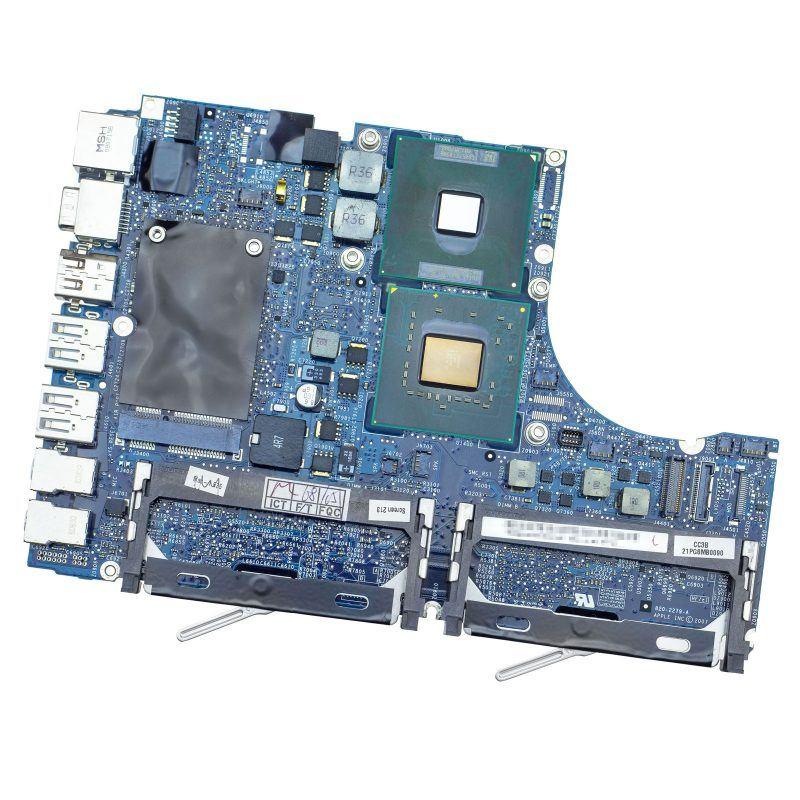 apple macbook non-unibody a1181 early 2008 2.4ghz core 2 duo logic board