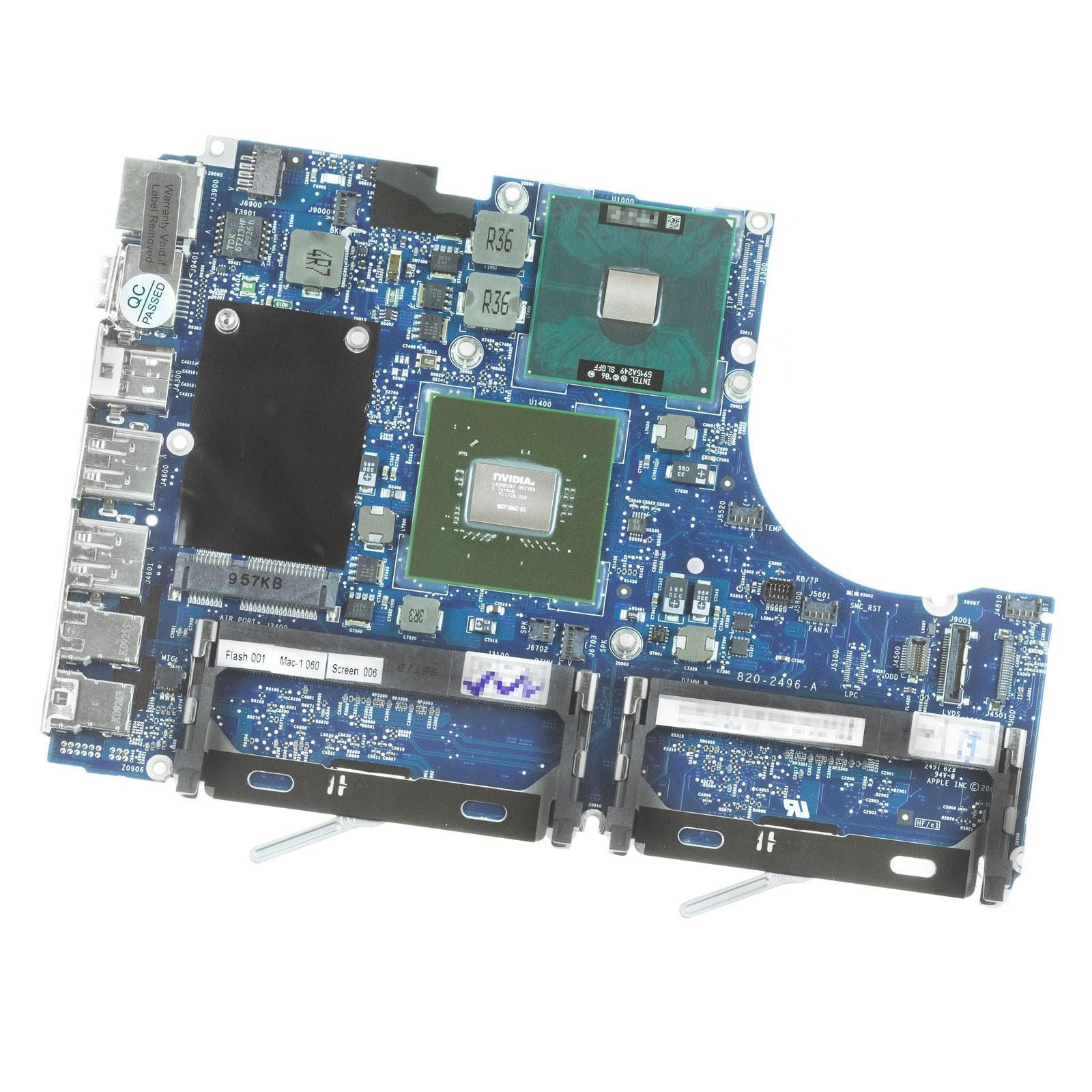 661-5242) Logic Board (2.13GHz Core 2 Duo) – MacBook 13″ A1181 ...