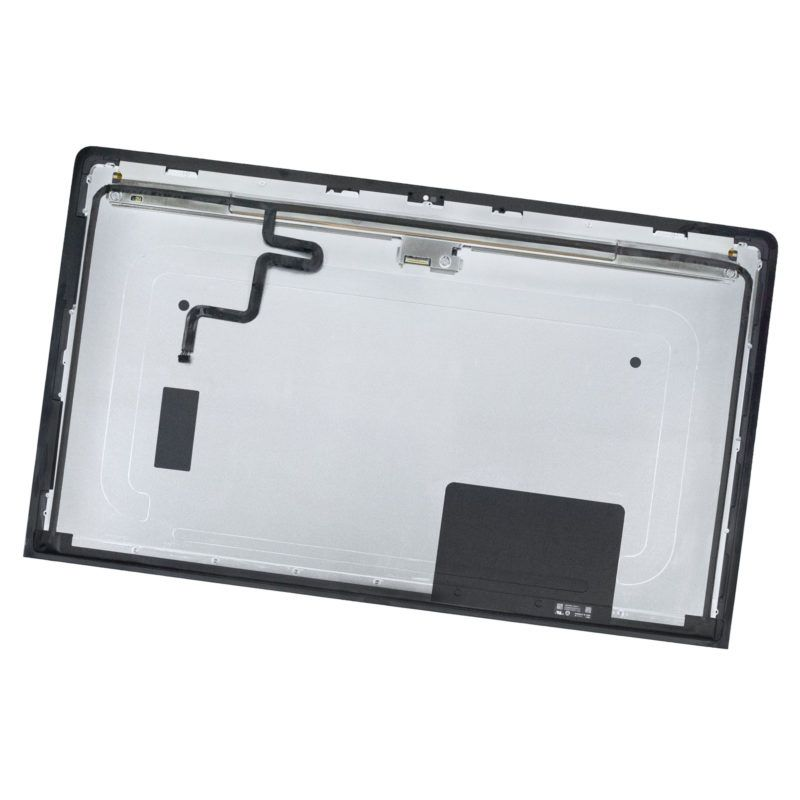 "apple imac 27"" a1419 2012 2013 lg lcd display panel front glass cover"
