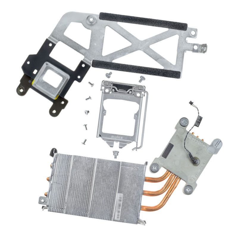 "CPU heatsink kit with brackets screws Apple iMac 21.5"" A1311 Mid 2010 OEM replacement parts Genuine original apl"