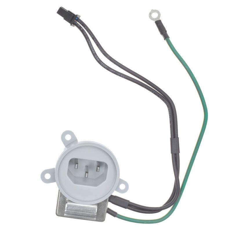 "AC filter power cord adapter socket apple iMac 21.5"" A1311 Mid 2010"