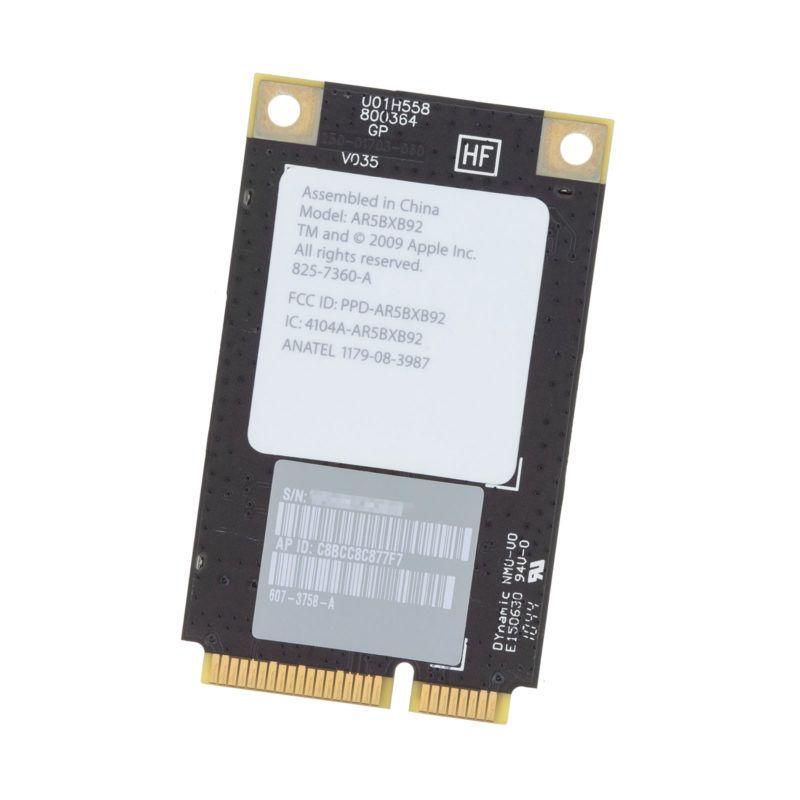 "AirPort Wireless card genuine OEM Apple iMac 21.5"" A1311 2009 2010 2011"