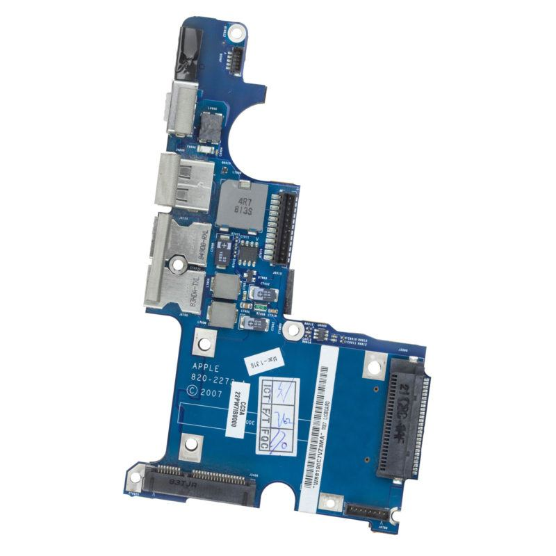 """I/O board magsafe USB headphone ports Apple MacBook Pro 15"""" A1260 Early 2008 apl oem original genuine replacement parts"""