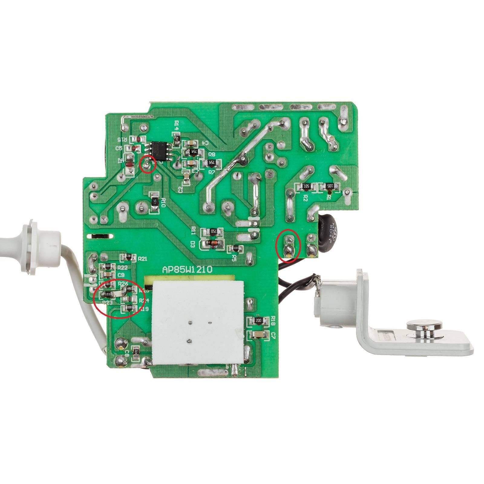 dangerous solder areas
