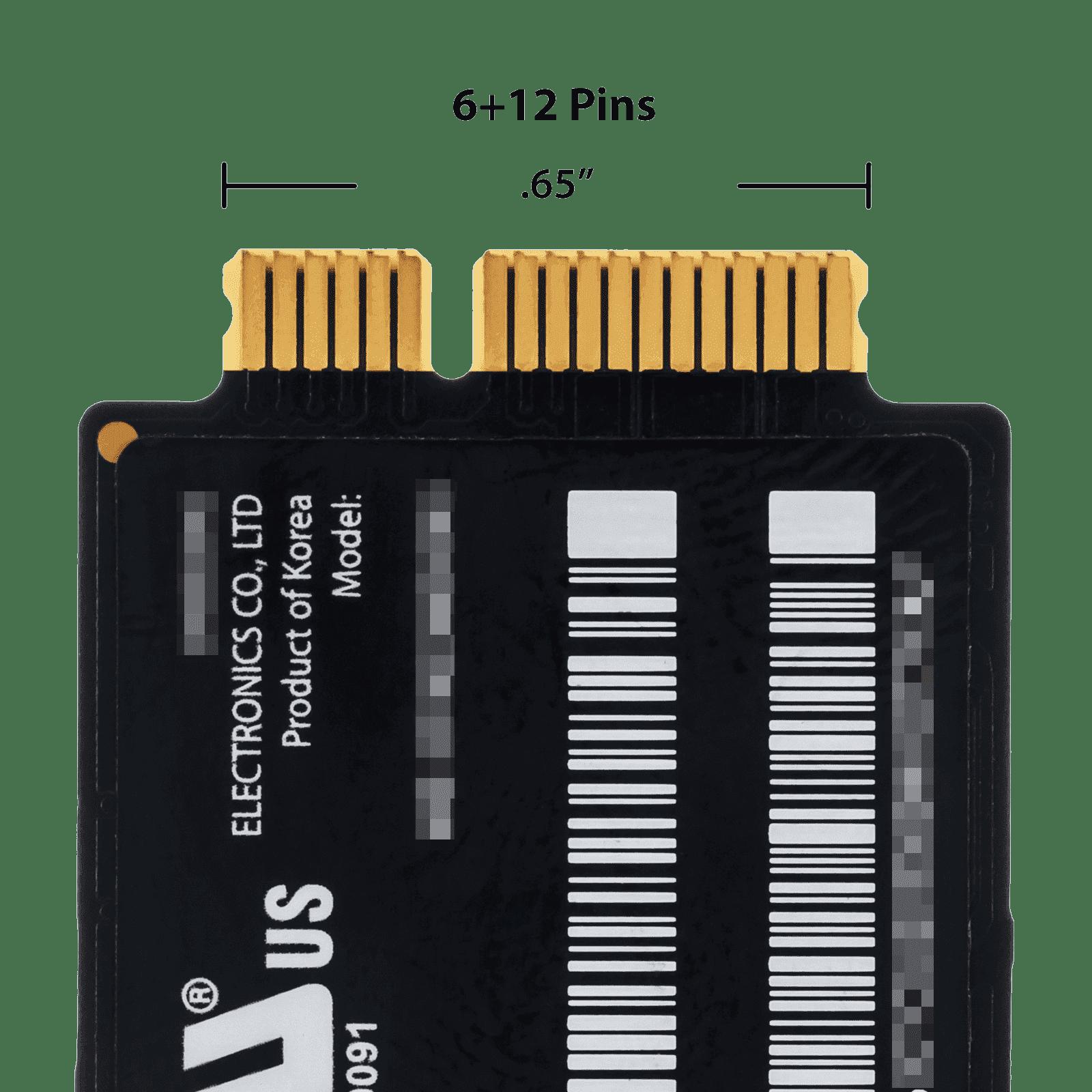 """Apple MacBook Air 13/"""" A1369 Mid 2011 MC965LL//A 256GB SSD Hard Drive 661-6052"""